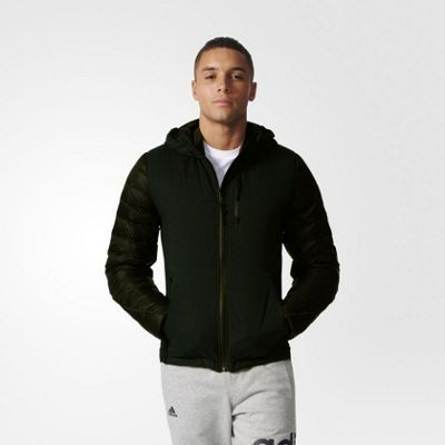 adidas Performance Mens Climaheat Down-filled Cold Weather Jacket - L