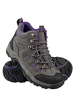 Mountain Warehouse Womens Waterproof Boots Maximum Stability Constructed - Grey