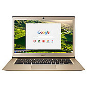 "Acer 14"" Chromebook 14 Intel Celeron 2GB RAM 32GB Storage Gold"