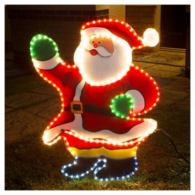 Buy santa christmas rope light silhouette from our all christmas santa christmas rope light silhouette aloadofball Choice Image