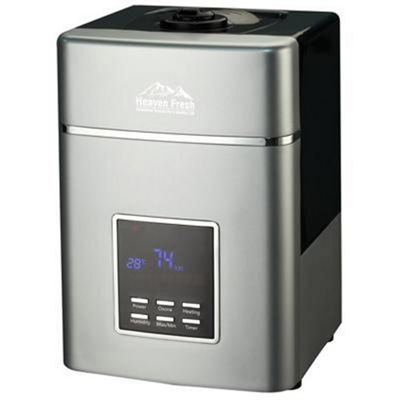Heaven Fresh HF707 Digital Ultrasonic Humidifier Silver