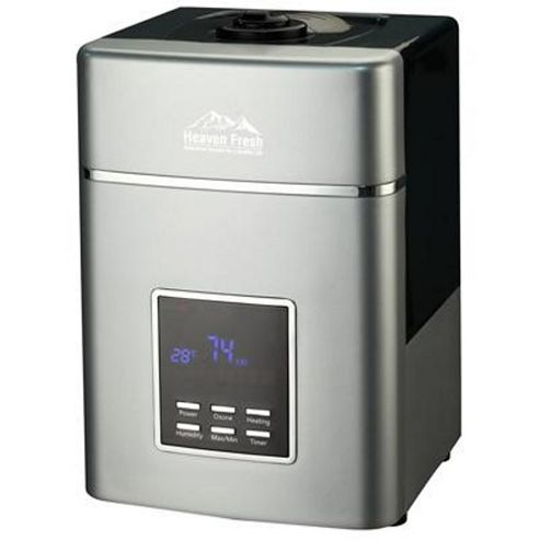 Heaven Fresh HF707 Digital Ultrasonic Humidifier Silver