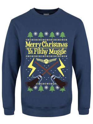 Merry Christmas Ya Filthy Muggle Christmas Jumper Sweater