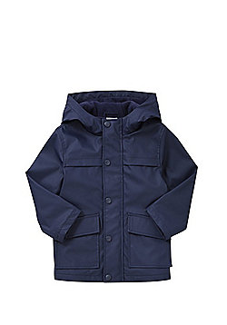 F&F Hooded Mac - Navy