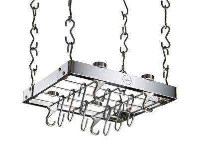 Hahn Metro Metal Ceiling Rack - Chrome