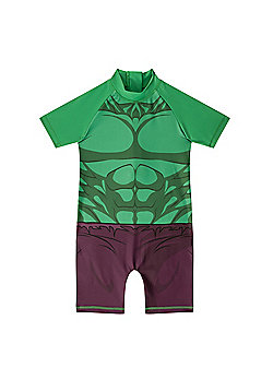 Marvel Comics Boys Surf Suit - Green