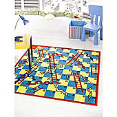 Matrix Kiddy Snake & Ladder Multi 133x133 Nylon Mat