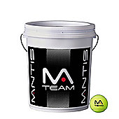 Mantis Team Premium Quality Tennis Balls - 72 Ball Bucket