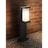 Auraglow Ultra Modern Heavy Duty Weather Resistant Outdoor Garden Path LED Post Light - Warm White - 60cm