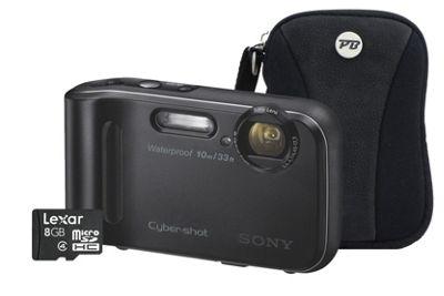 Sony DSC-TF1 Black Camera Kit inc 8GB Micro SD Card and Case