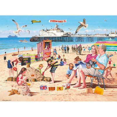 A Day at the Beach - 500pc Puzzle