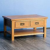Surrey Oak Coffee Table - Rustic Oak