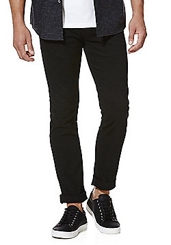 F&F Stretch Skinny Chinos - Black