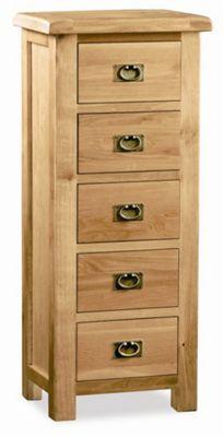 Alterton Furniture Pemberley 5 Drawer Tallboy Chest