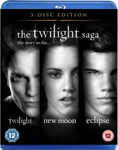 The Twilight Saga Triple - Twilight / New Moon / Eclipse (Blu-Ray Boxset)