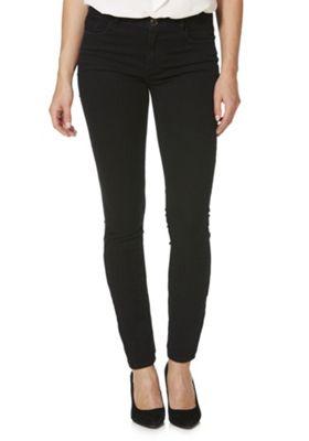 JDY Low Rise Skinny Jeans 28 Waist 32 Leg Black wash