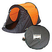 2 Man Pop-up Tent 95 x 120 x 220 cm + FREE carry bag and sturdy groundsheet -