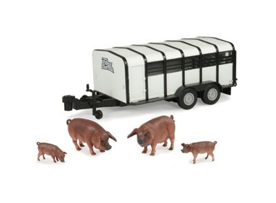 Britains Big Farm Pig Trailer with Pigs - Action Figures