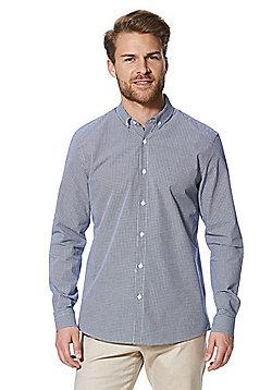 F&F Signature Gingham Shirt - Blue