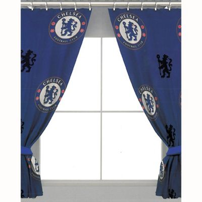 Chelsea FC Crest Curtains 54