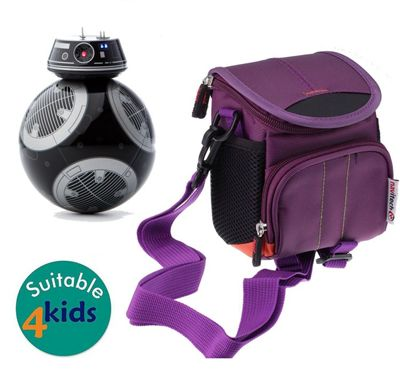 Navitech Purple Case Bag Cover for the STAR WARS BB-9E app-enabled droid