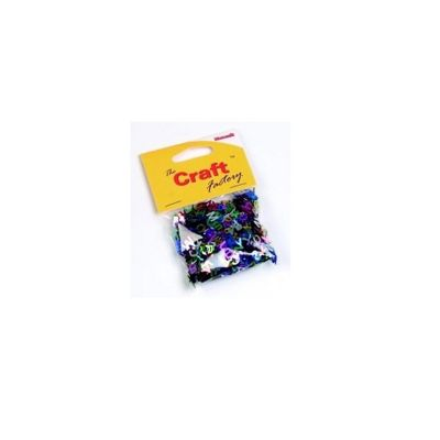 Craft Factory Assorted Paillette Letters 15grams