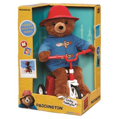 Cycling Paddington Bear On A Bike