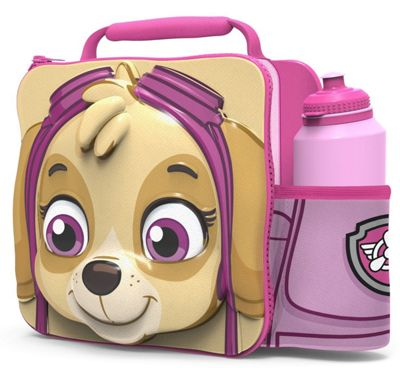Paw Patrol 'Skye' 3d Lunch Bag with Bottle Box