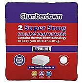 Slumberdown Super Snug Pillow Protector Pair