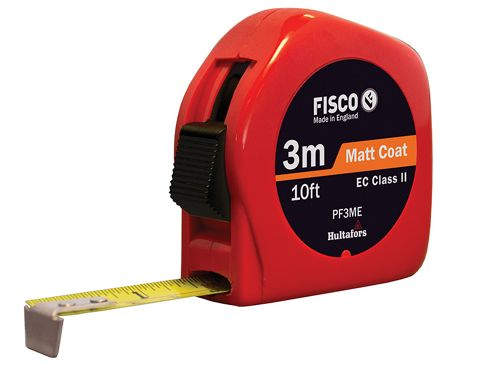 Fisco PFC3ME Pro Flex Pocket Tape 3m/10ft (Width 13mm)