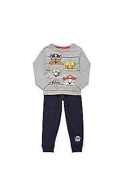 Nickelodeon Paw Patrol Jersey Pyjamas - Grey