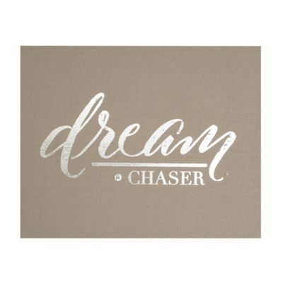 Art for Home Dream Chaser Embellished Fabric Canvas