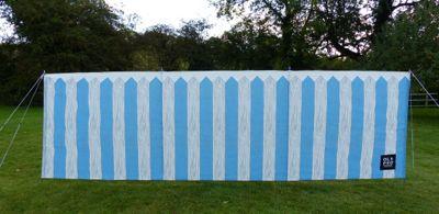 Picket Fence 4 Pole Windbreak