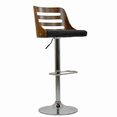 Kalstrom Wooden Bar Stool Black