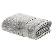 TESCO TURKISH COTTON HAND TOWEL SOFT SILVER