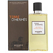 Hermes Terre d'Hermes Shower Gel 200ml