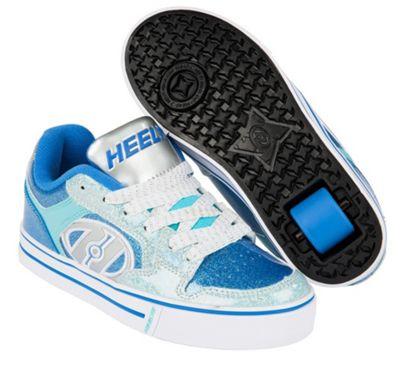Heelys Motion Plus Blue/Ice Blue Kids Heely Shoe JNR 12