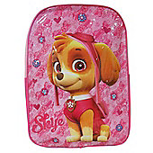 Paw Patrol 'Skye' Girls Junior School Bag Rucksack Backpack
