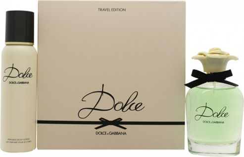Dolce & Gabbana Dolce Gift Set 75ml EDP Spray + 100ml Body Lotion For Women