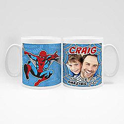 Marvel Personalised Father's Day Spiderman Photo Mug