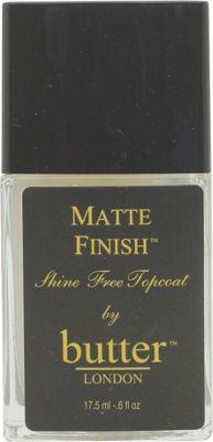Butter London Matte Finish Top Coat 17.5ml