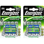 8 x Energizer AA Rechargeable Batteries 2000 mAh Nimh