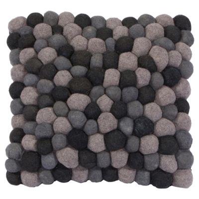 The Ultimate Rug co. Rocks cushion Grey 43x43cm