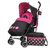 Obaby Stroller Bundle with Mosquito Net - Minnie Circles