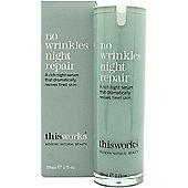 This Works No Wrinkles Night Repair 30ml