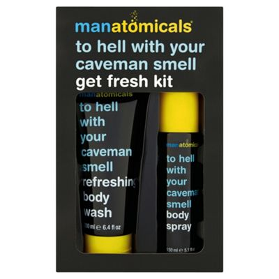 Manatomicals To Hell With Your Caveman Smell Get Fresh Kit