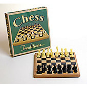 Prof Warbles Retro Wooden Chess