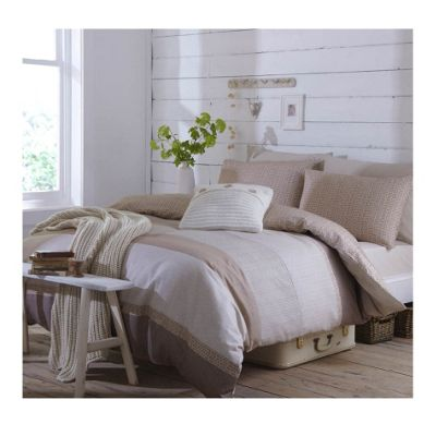 Catherine Lansfield Home Cosy Corner Argyle Double Bed Duvet Cover Set