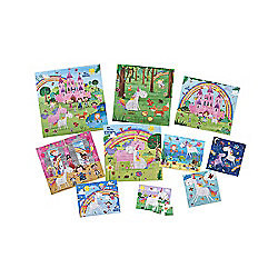 ELC 10 Puzzles in a Box - Magical World Puzzles