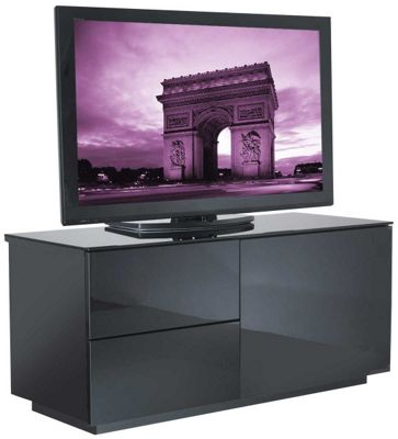 UK-CF High Gloss Black TV Cabinet for up to 50 inch